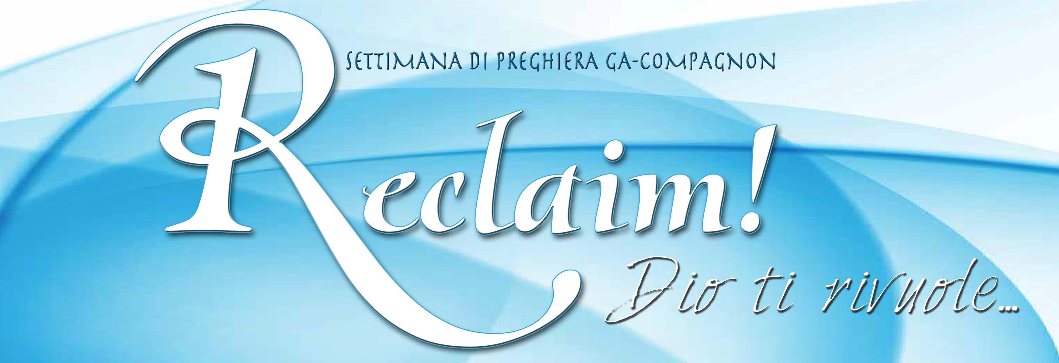 Settimana Di Preghiera GA E Compagnon 2015