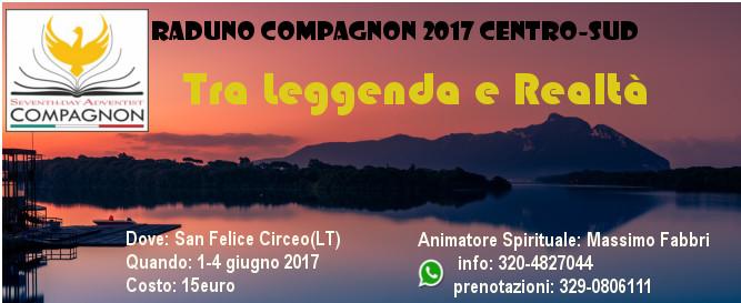 Raduno Compagnon Basso Lazio – 1/4 Giugno 2017