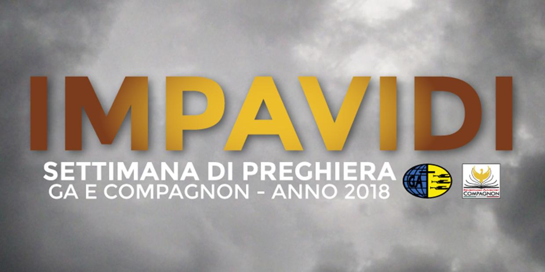 Settimana Di Preghiera GA E Compagnon 2018