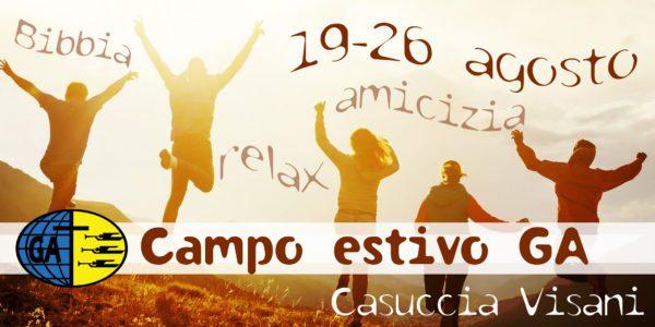 Campo GA – Casuccia Visani 2018