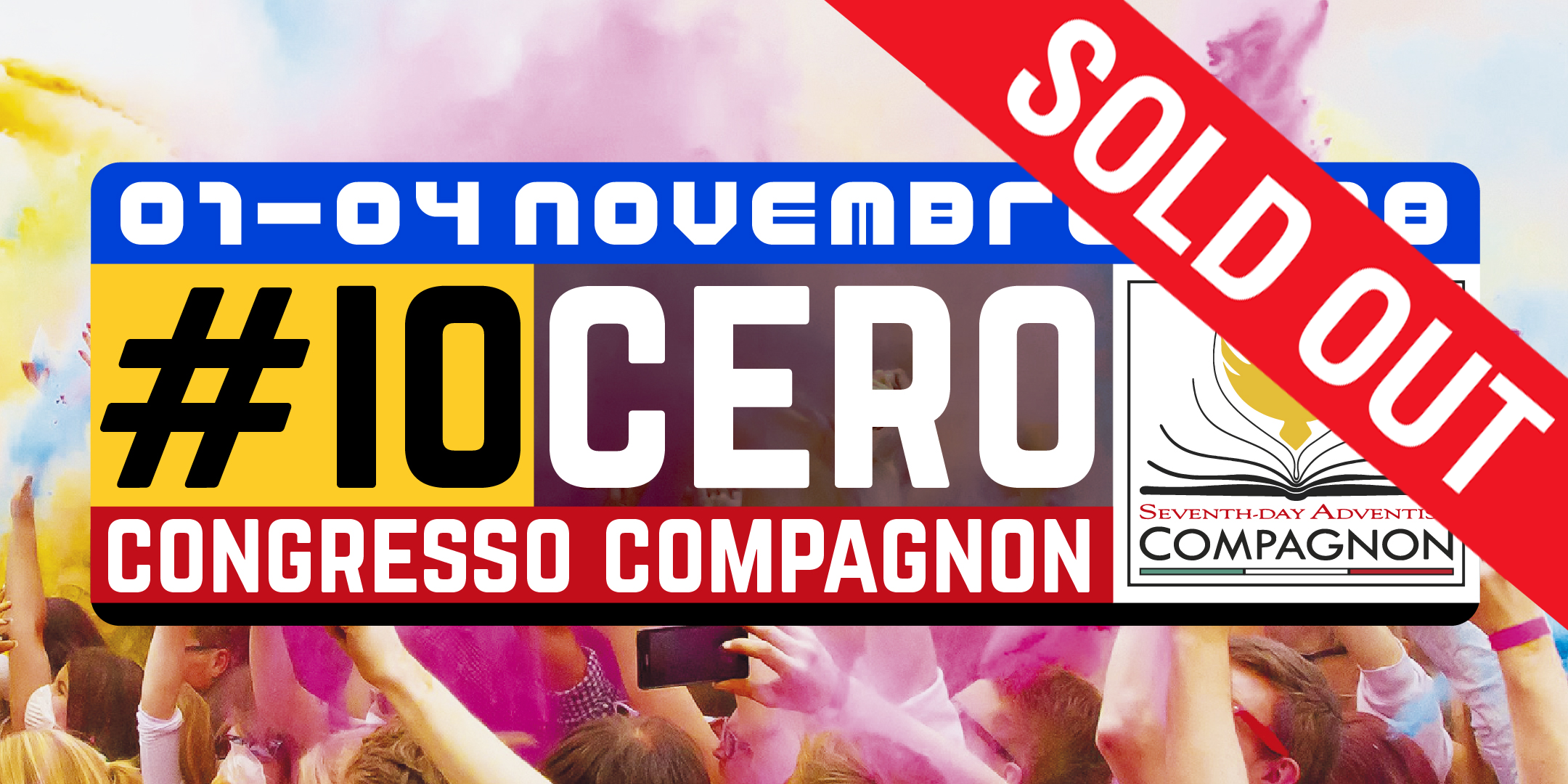 Congresso Compagnon 2018 SOLD OUT