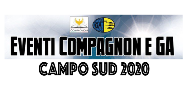 Eventi GA E Compagnon Campo Sud 2020