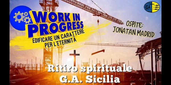 Ritiro Spirituale GA Sicilia 2020